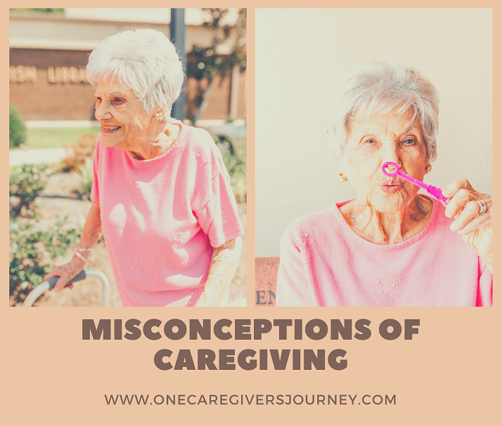 Misconcenptions in caregiving by author Eleanor Gaccetta